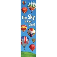 The Sky Is Your Limit Banner Poster