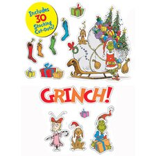Dr Seuss The Grinch Bulletin Board Cut Out
