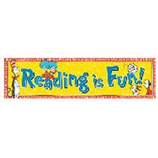 Classroom Banners Reading Is Fun Poster (Set of 2)