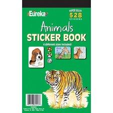 Book Animals Sticker (Set of 2)