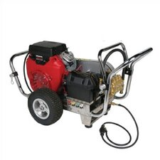 Water Shotgun 5000 PSI Cold Water Electric Start Gas Powered Pressure Washer w/ Honda Engine (Belt Drive)