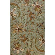 Seville Light Green Area Rug
