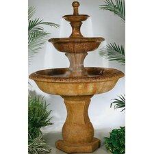 Tiered Cast Stone Grande Barrington Waterfall Fountain
