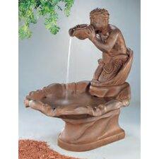 Figurine Cast Stone Triton Fountain