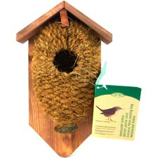 Nest Pocket Coconut Fiber Birdhouse