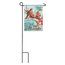 EverNote Blossoms and Bird Garden Flag