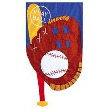 Play Ball 2-Sided Garden Flag