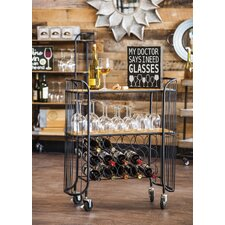 15 Bottles Wine Rack