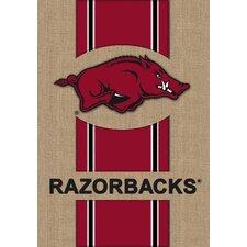 NCAA Burlap Flag