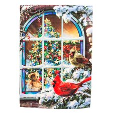 Christmas Window Garden Flag