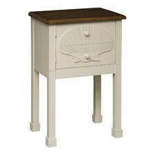 Scallop Shell End Table