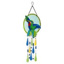 Hummingbird Suncatcher Decor