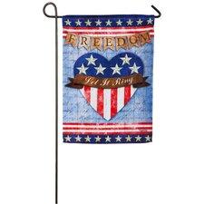 Let Freedom Ring Garden Flag