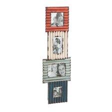 Multi-Color Metal Hanging Photo Frame
