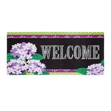 Hydrangea Beauty Sassafras Doormat