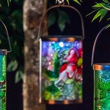 Garden Friends Hummingbird Solar Lantern