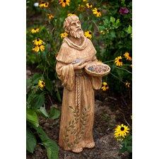 St Francis Statuary Glimpses of God Decorative Bird Feeder