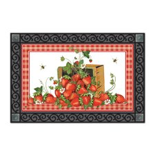 Strawberry Basket Matmate Doormat
