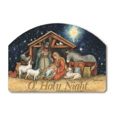 Holy Night Garden Sign