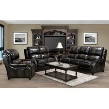 Twain Leather Living Room Collection