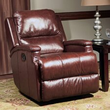 Atlas Leather Glider Recliner