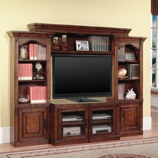 Premier Athens Stereo Cabinets (Pair) with Hand-Wiped Burl