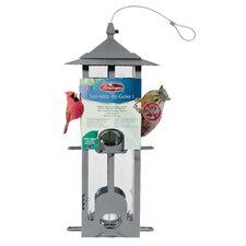 Pewterin Squirrel Be-Gone Bird Feeder (Set of 2)
