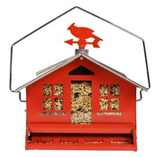 Squirrel-Be-Gone Country Style Bird Feeder