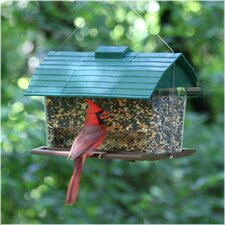 Seed Barn Hopper Bird Feeder