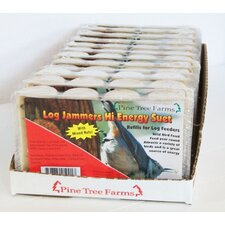 Log Jammers Hi Energy Suet Bird Food