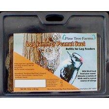 Log Jammers Peanut Suet Bird Food