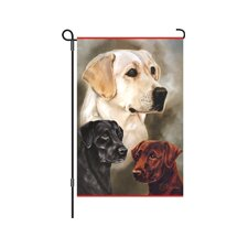 Labrador Retriever Garden Flag