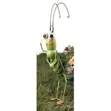 Grasshopper Garden Stake