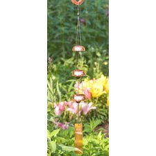 Trio Temple Wind Chime Bell in Copper