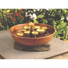 Water Bell Copper Bowl Brass Cascade Fountain