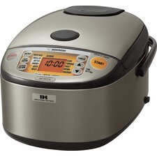 Stainless Induction Heating System Rice Cooker and Warmer