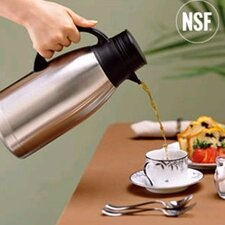 Stainless Steel Vacuum Carafe with Brew Thru Lid