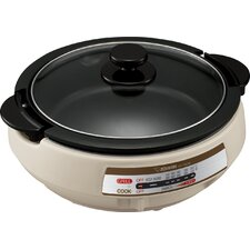 Gourmet d'Expert Electric Skillet with Lid