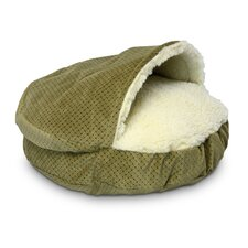 Cozy Cave Luxury Orthopedic Hooded Dog Bed