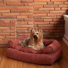 Overstuffed Luxury Dog Sofa