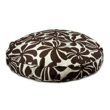 Pool and Patio Round Twirly Dog Pillow