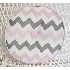 Chevron Baby Cotton Throw Pillow