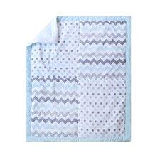 Chevron Baby 3 Piece Crib Bedding Set