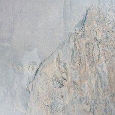 "Arriba 12.5"" x 24.5"" Porcelain Splitface Tile in Grey"
