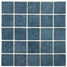 Utopia Porcelain Mosaic Tile in Blue