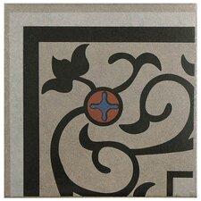 """Cementa 7"""" x 7"""" Ceramic Glazed Tile in And Esquina"""