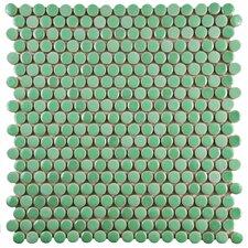 Tucana Porcelain Mosaic Tile in Green