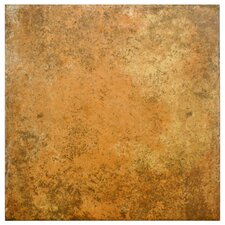"""Obila 12.5"""" x 12.5"""" Ceramic Floor and Wall Tile in Brown"""