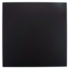 "Anthrakites 7.75"" x 7.75"" Ceramic Floor and Wall Tile in Black"