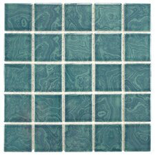 Utopia Porcelain Mosaic Tile in Green